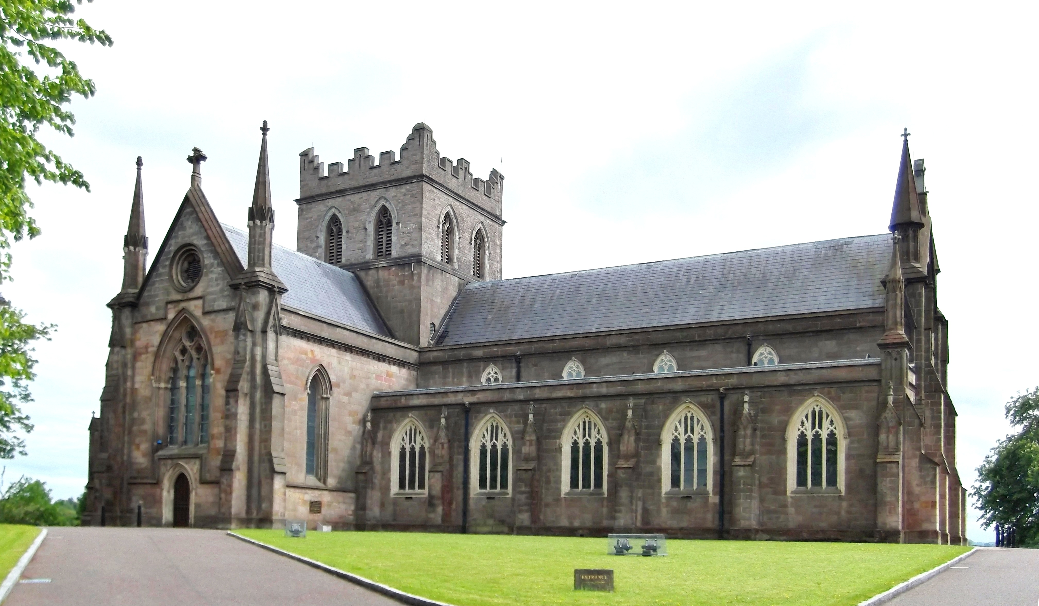 St Patrick's Cathedral, Armagh (Church of Ireland) - Wikipedia