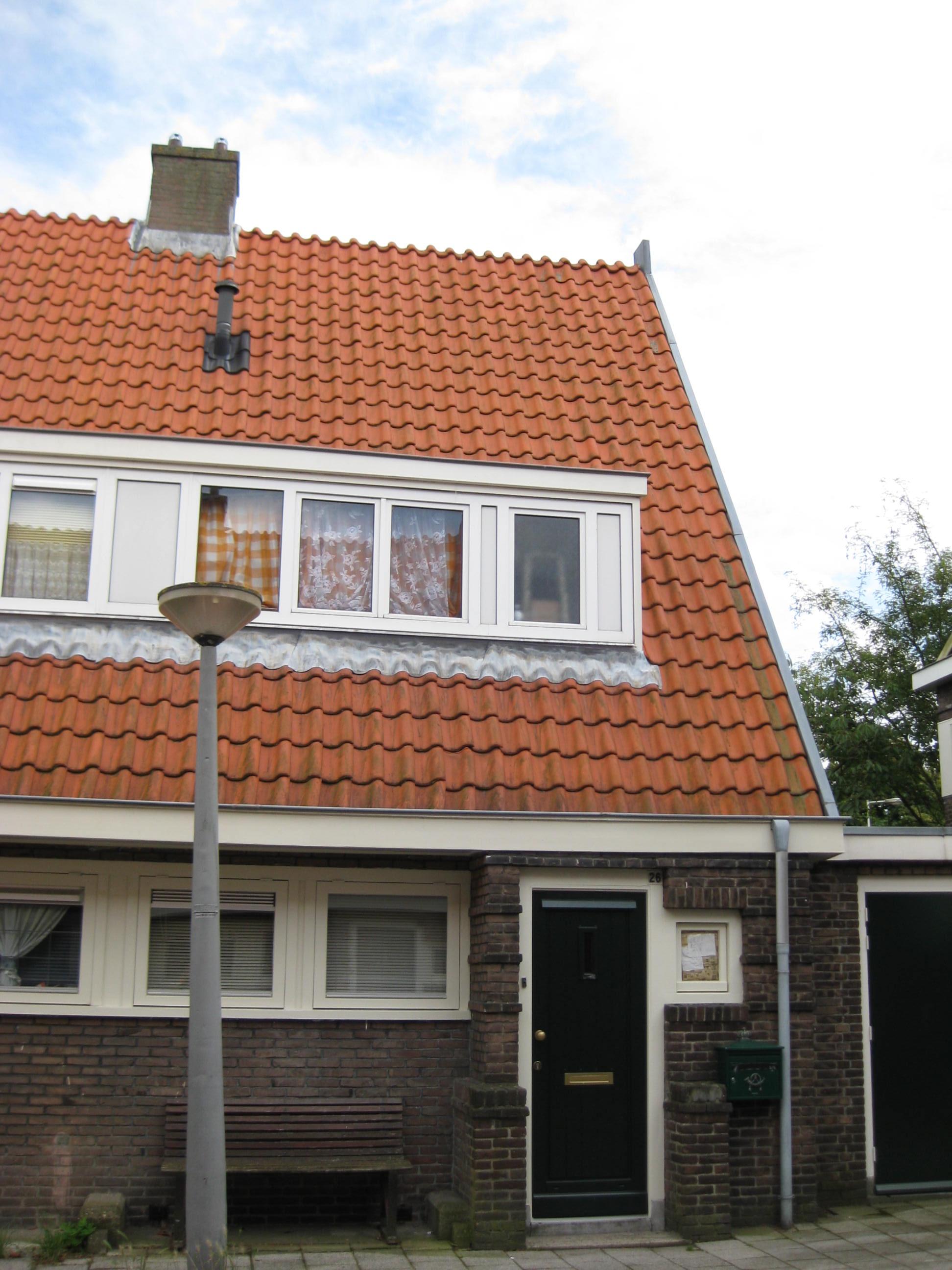 Blok met 8 keukenwoningen, zo genoemd vanwege destijds nieuwe ...