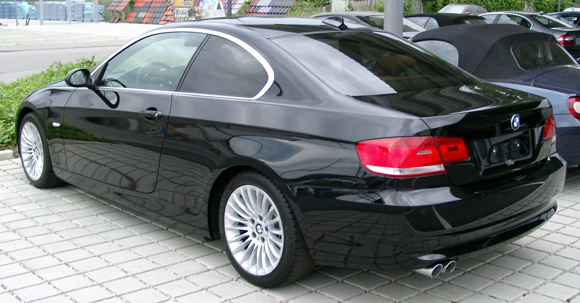 File Bmw E90 Coupe Rear 20080524 Jpg Wikimedia Commons