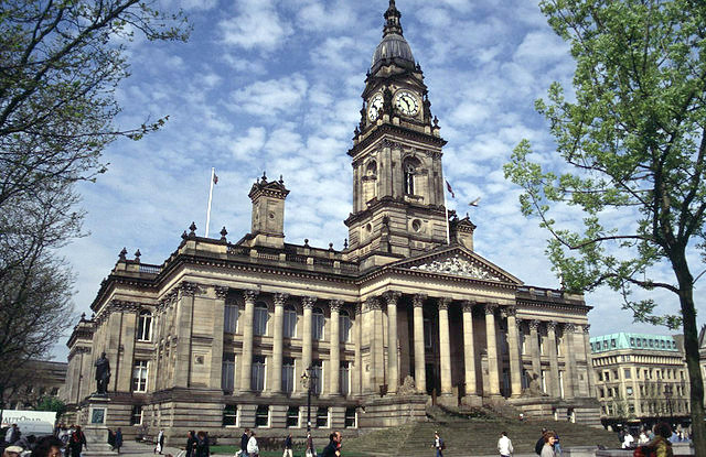 Bolton Town Hall, Bolton, Greater Manchester, England.