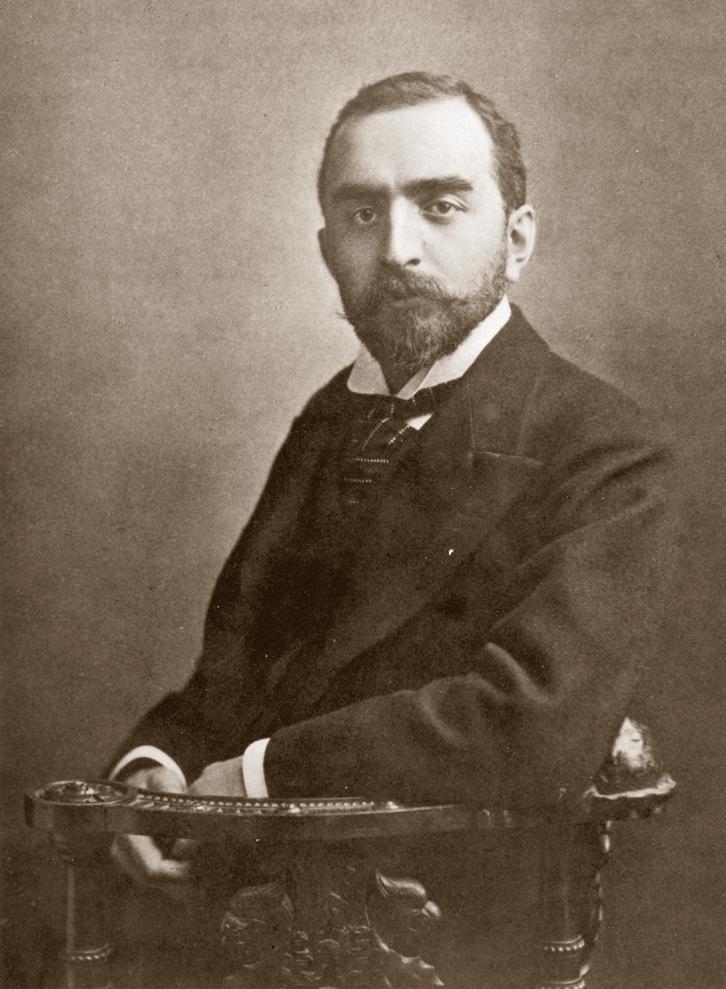 Portrait de Calouste Gulbenkian.