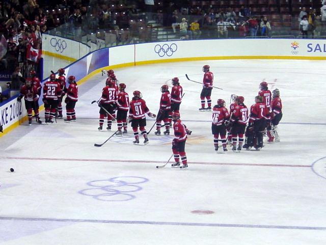 Canadia ice hockey temp women
