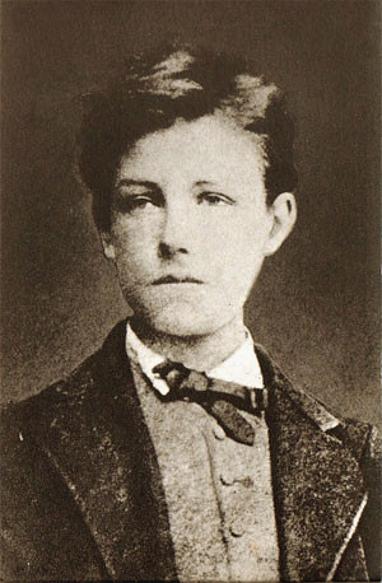 Arthur Rimbaud par Étienne Carjat, 1872.