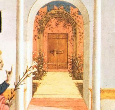 FileCentral door in the Annunciation by Domenico Veneziano Fitzwilliam Museum Cambridge ( & File:Central door in the Annunciation by Domenico Veneziano ...