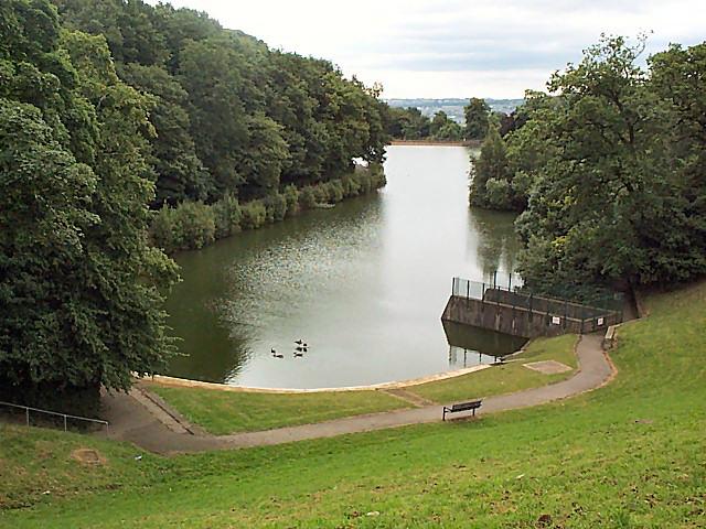 Chellow Dene lower reservoir - geograph.org.uk - 37348