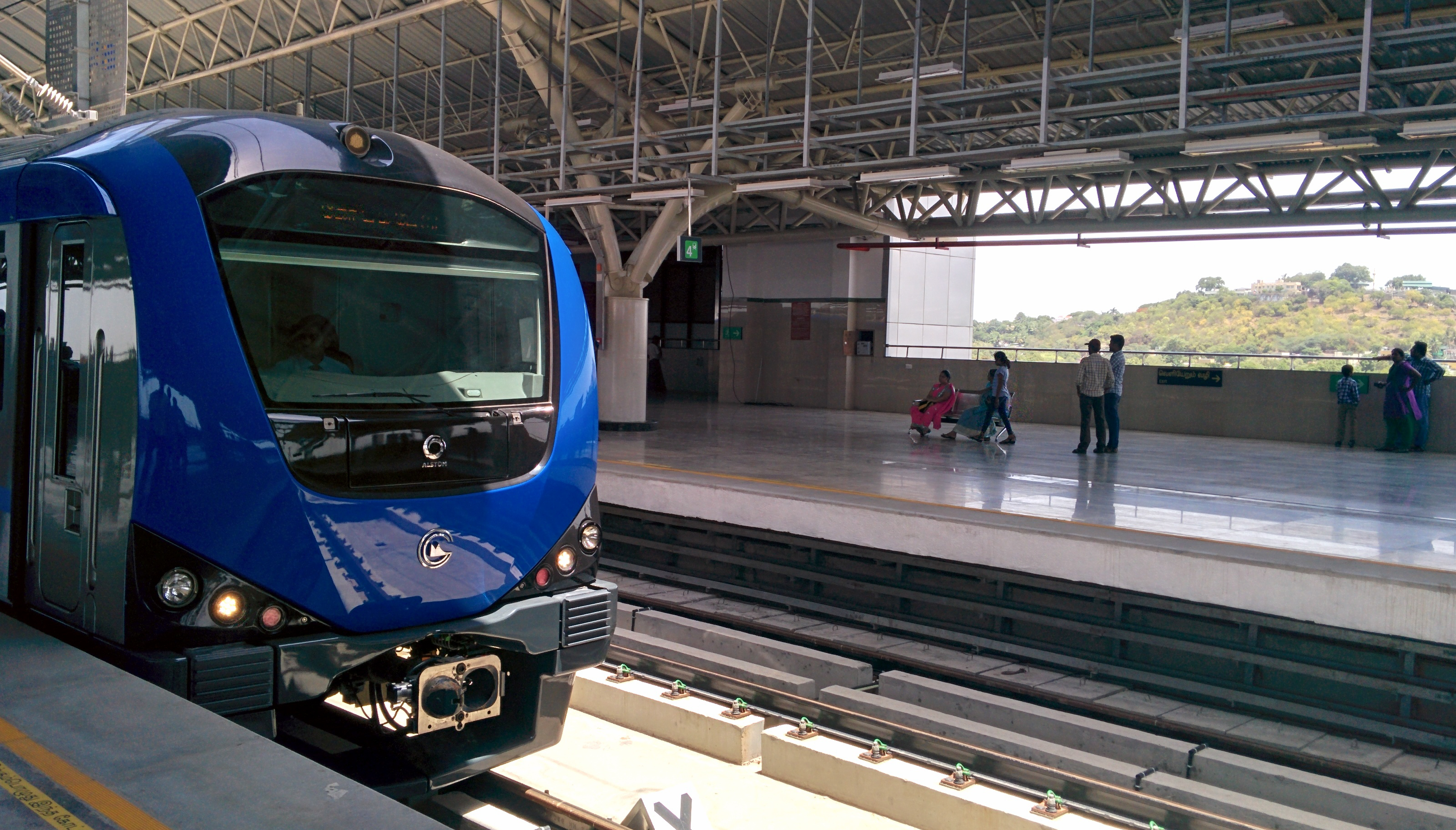 5 Things You Should Know About Chennai Central Metro Station