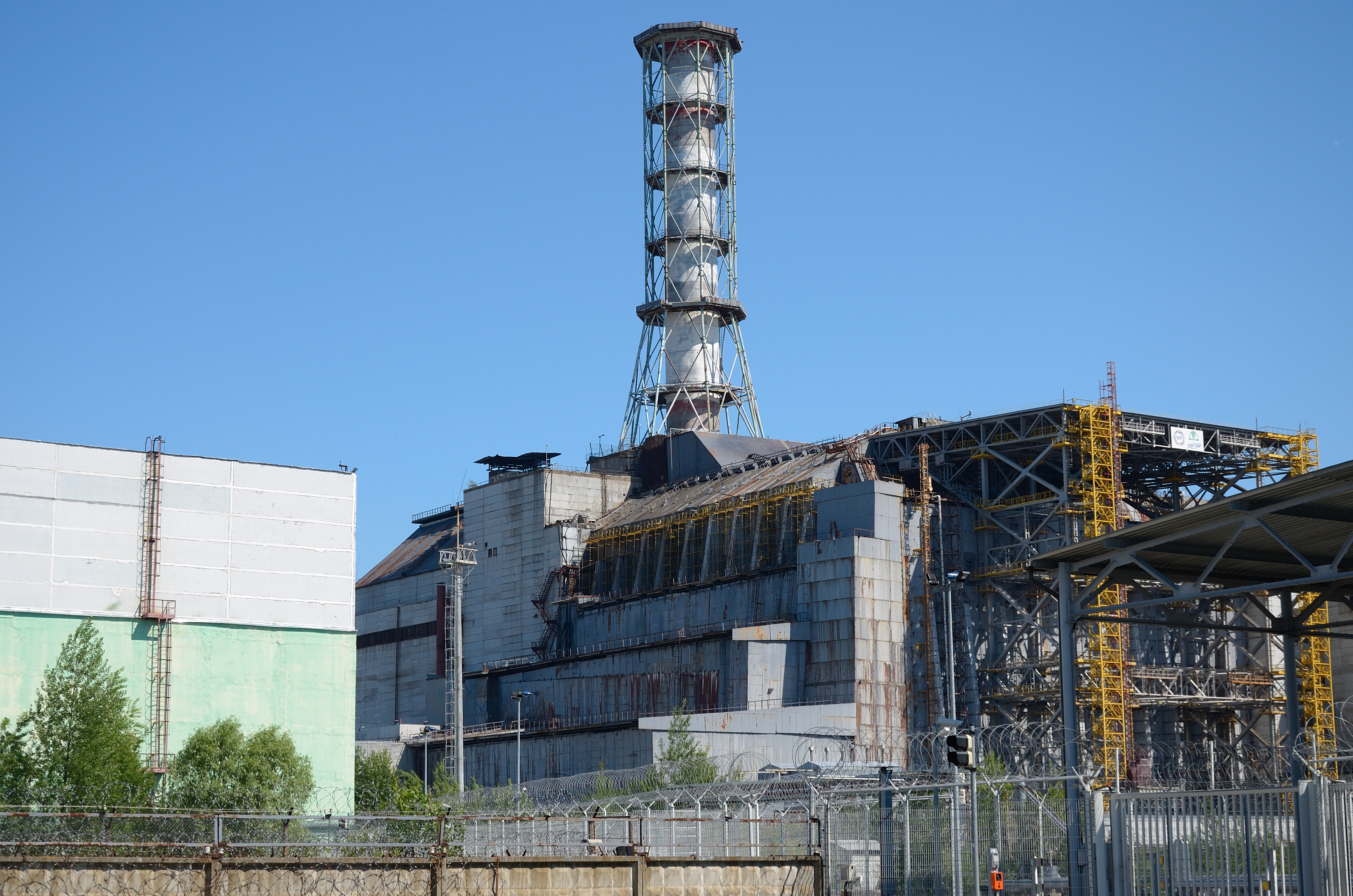 Chernobyl Nuclear Power Plant Wikipedia - Us nuclear plant meltdown map