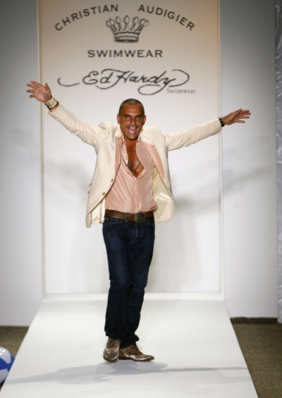 Christian Audigier Photographed by Ed Kavishe for fashion wire press