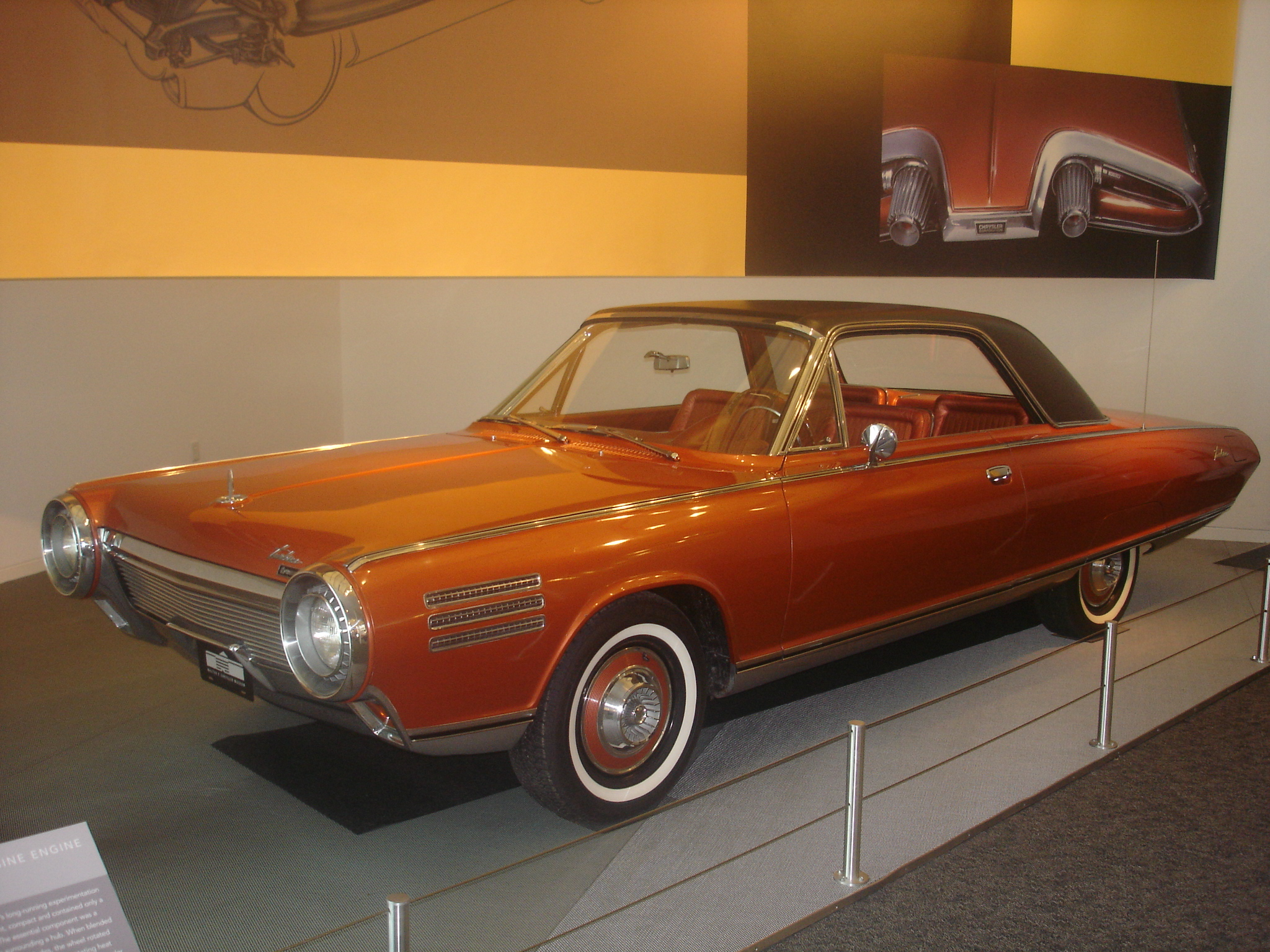 Chrysler Turbine Car Wikipedia Auto Diagram 1970 Plymouth Wiring 1960 Chevy Truck
