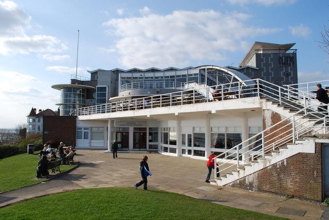 Cliffs Pavilion - geograph.org.uk - 1217530