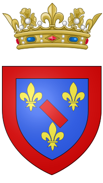 Coat of arms of the Count of Soissons.png
