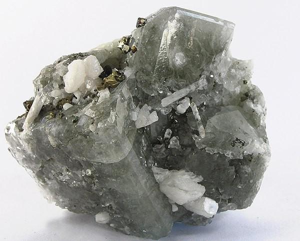 Datolite-Danburite-Chalcopyrite-169724