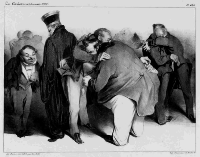 Daumier - Honest people