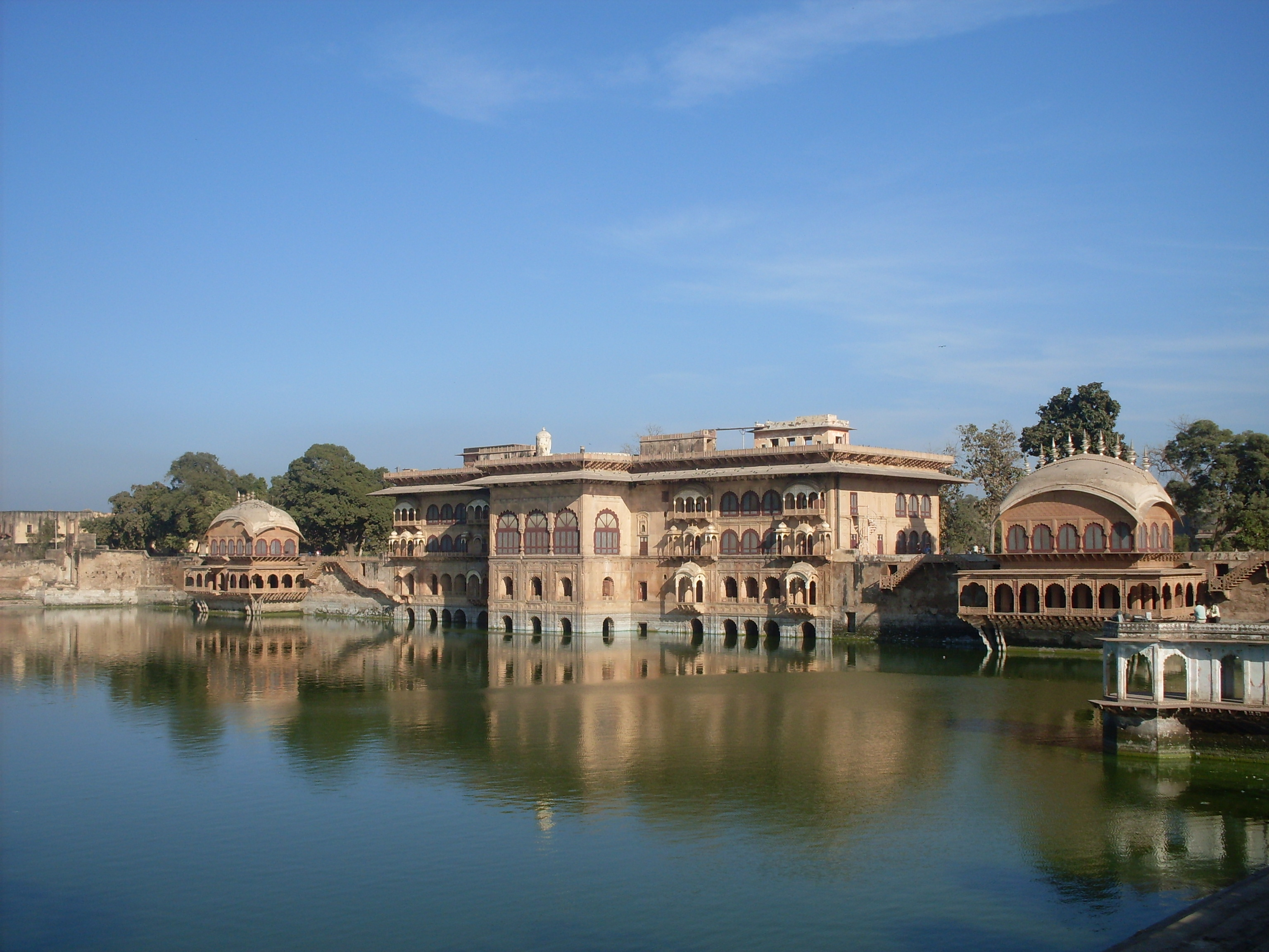 Deeg Palace or Jal Mahal or Water Palace at Deeg in Rajasthan