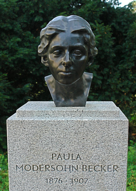 Datei Denkmal Paula Modersohn Becker Bremen Wallanlagen 1