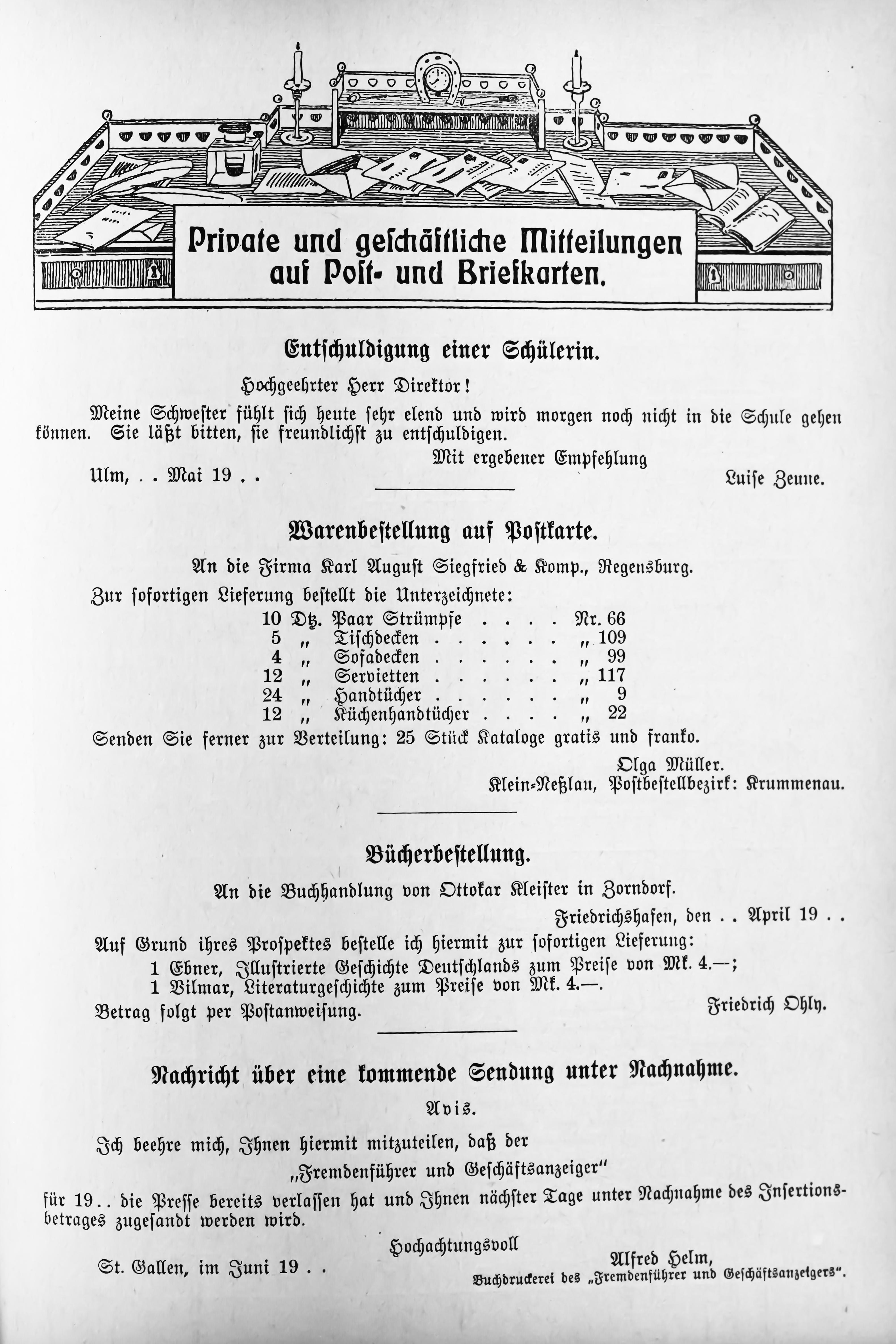 File:Der Haussekretär Hrsg Carl Otto Berlin ca 1900 Seite 539.jpg ...