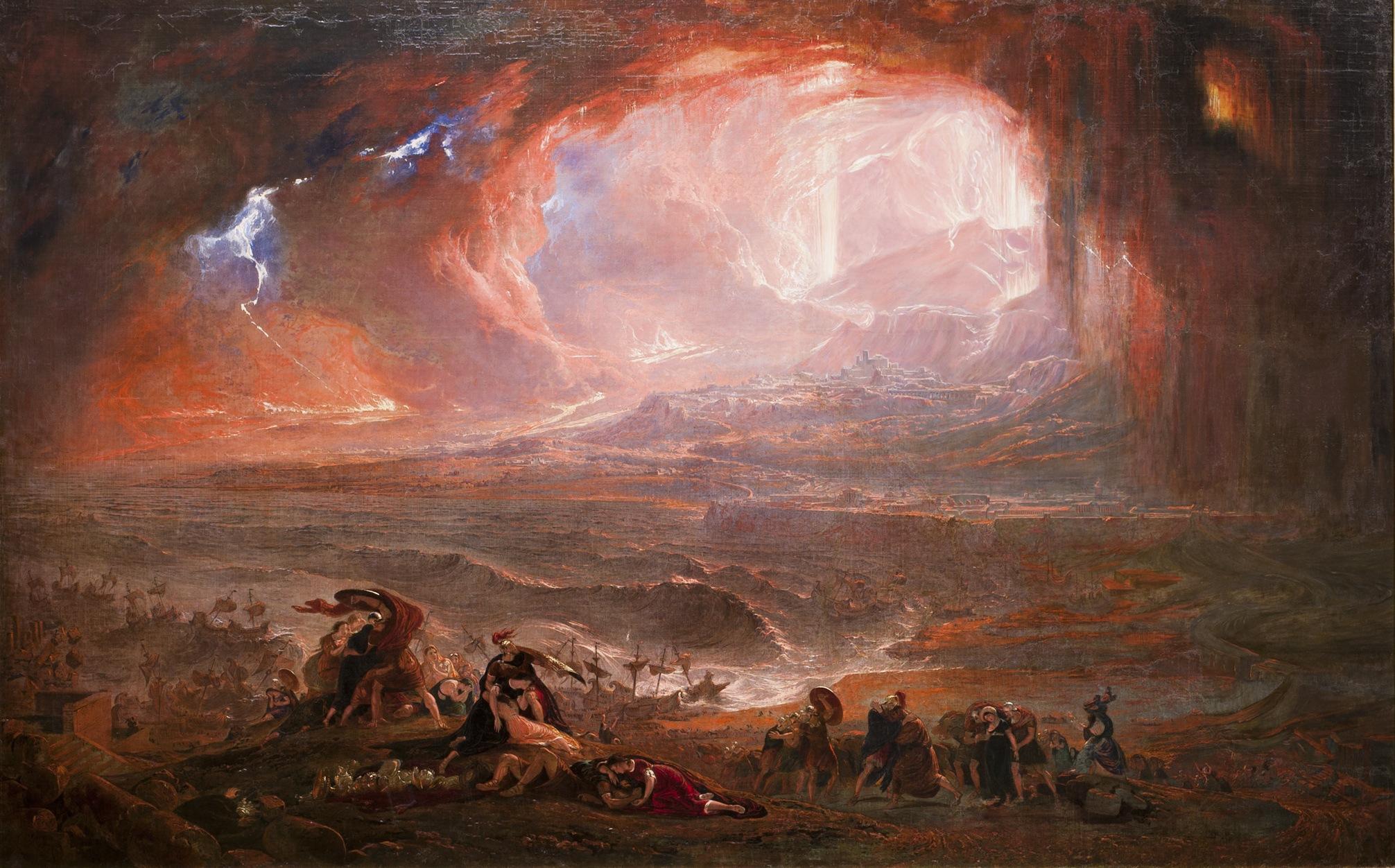 Eruption Of Mount Vesuvius In 79