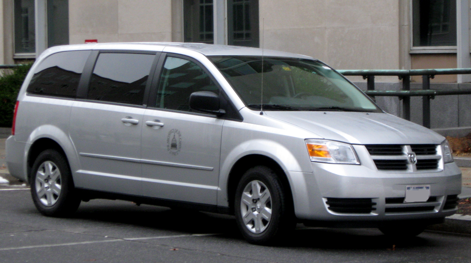 Description Dodge Grand Caravan SE -- 12-26-2009.jpg