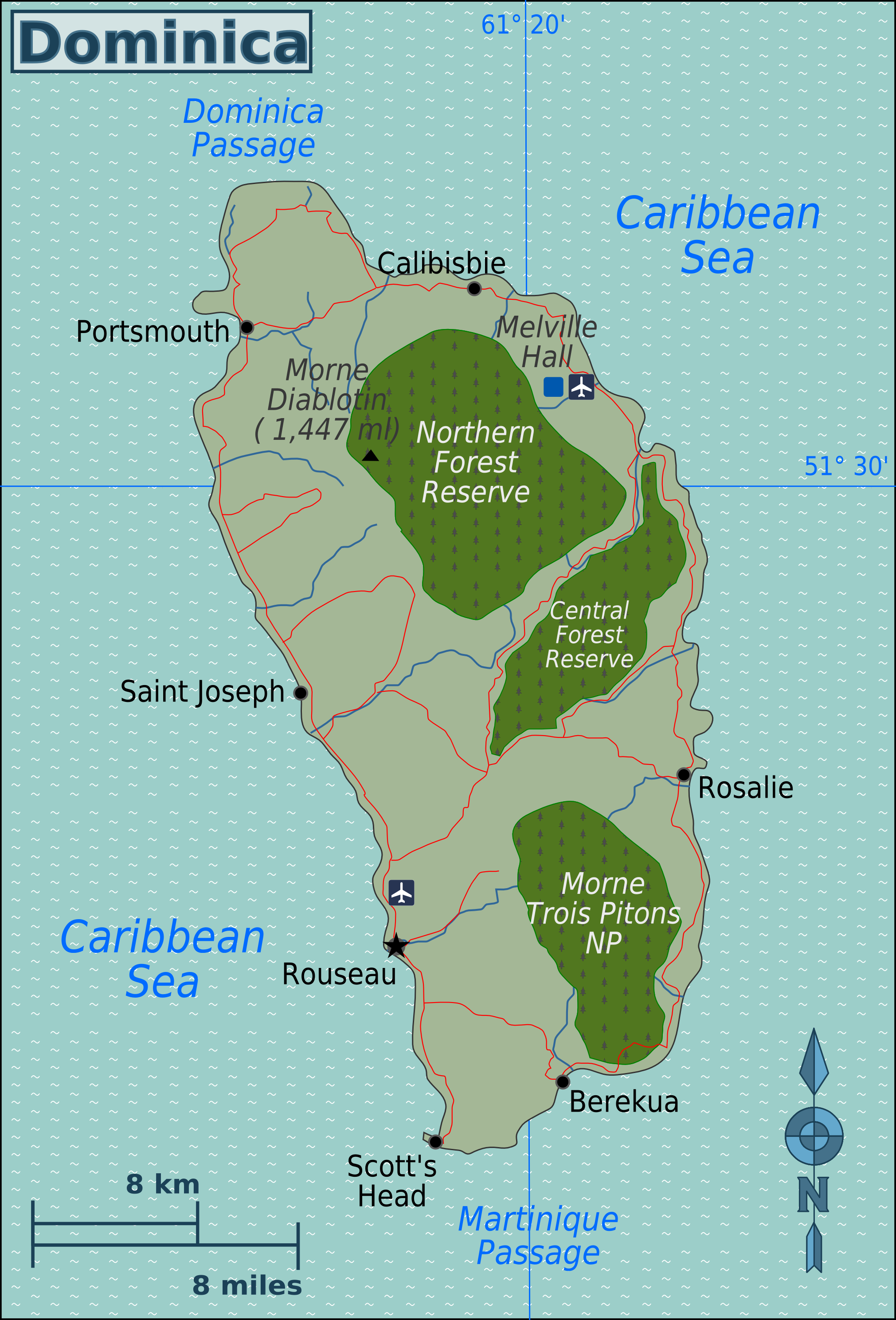 File:Dominica Map.png - Wikimedia Commons on fiji map, el salvador map, st. lucia map, grenada map, martinique map, costa rica map, georgia country map, cayman islands, dominican republic, st thomas map, saint lucia, iceland map, malta map, zimbabwe map, the bahamas, americas map, montserrat map, trinidad and tobago, barbados map, turks and caicos islands, maldives map, antigua and barbuda, caribbean map, st. kitts map, haiti map, jamaica map, dominican republic map,
