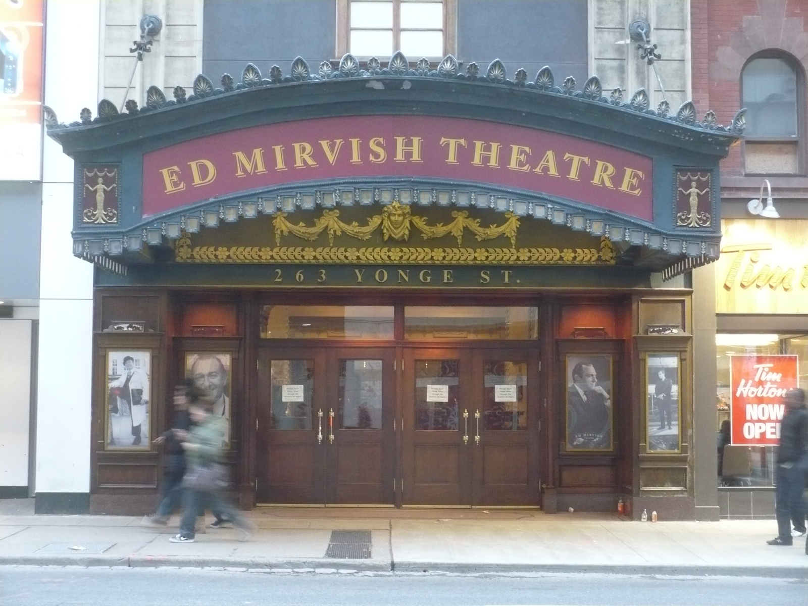 Ed Mirvish Theatre Parking And Restaurants