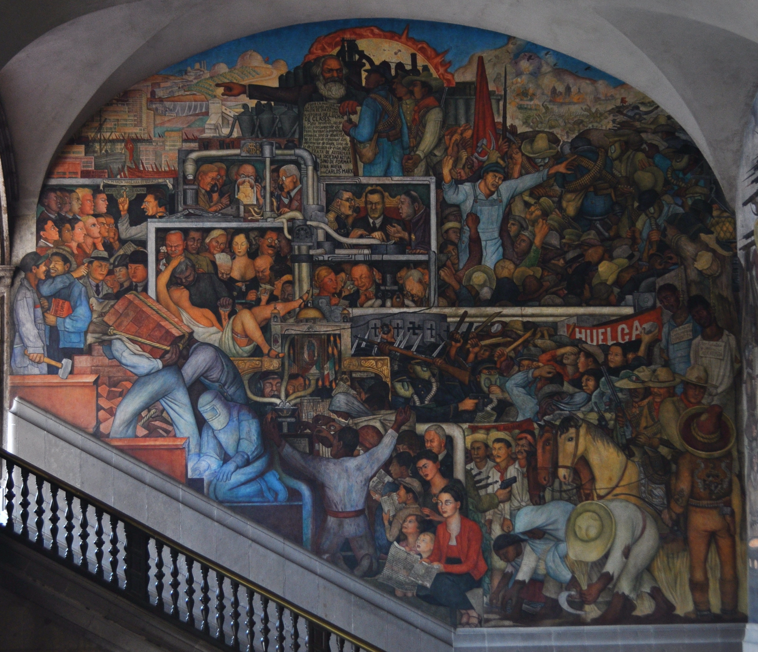 File el m xico de hoy y ma ana 2011 jpg wikimedia commons for El mural jalisco