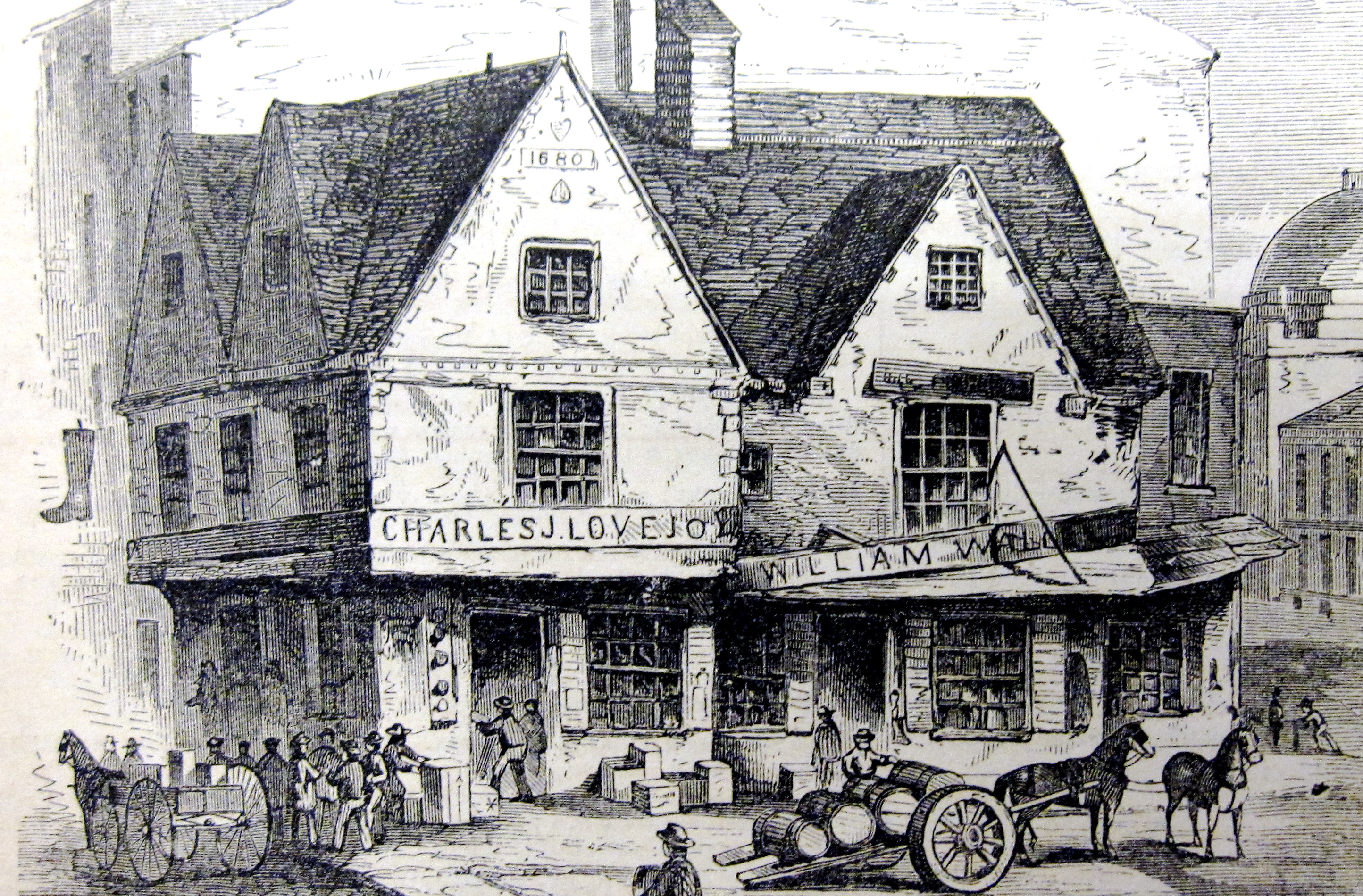 17th Century Boston with Nathaniel Hawthorne in The Scarlet Letter