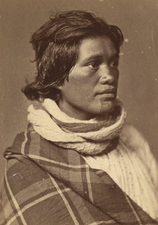 Traditional Cherokee Face Painting To Convey Sorrow