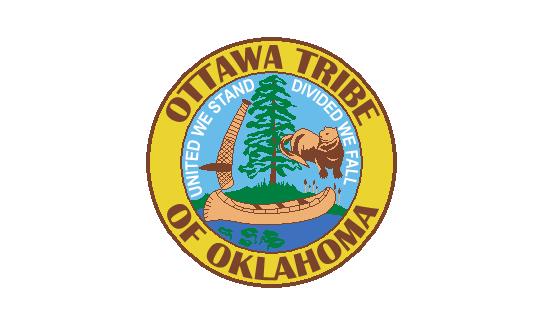 Fileflag Of The Ottawa Tribe Of Oklahomag Wikimedia Commons