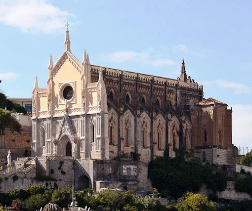 Gaeta, Tempio di San Francesco - Esterno