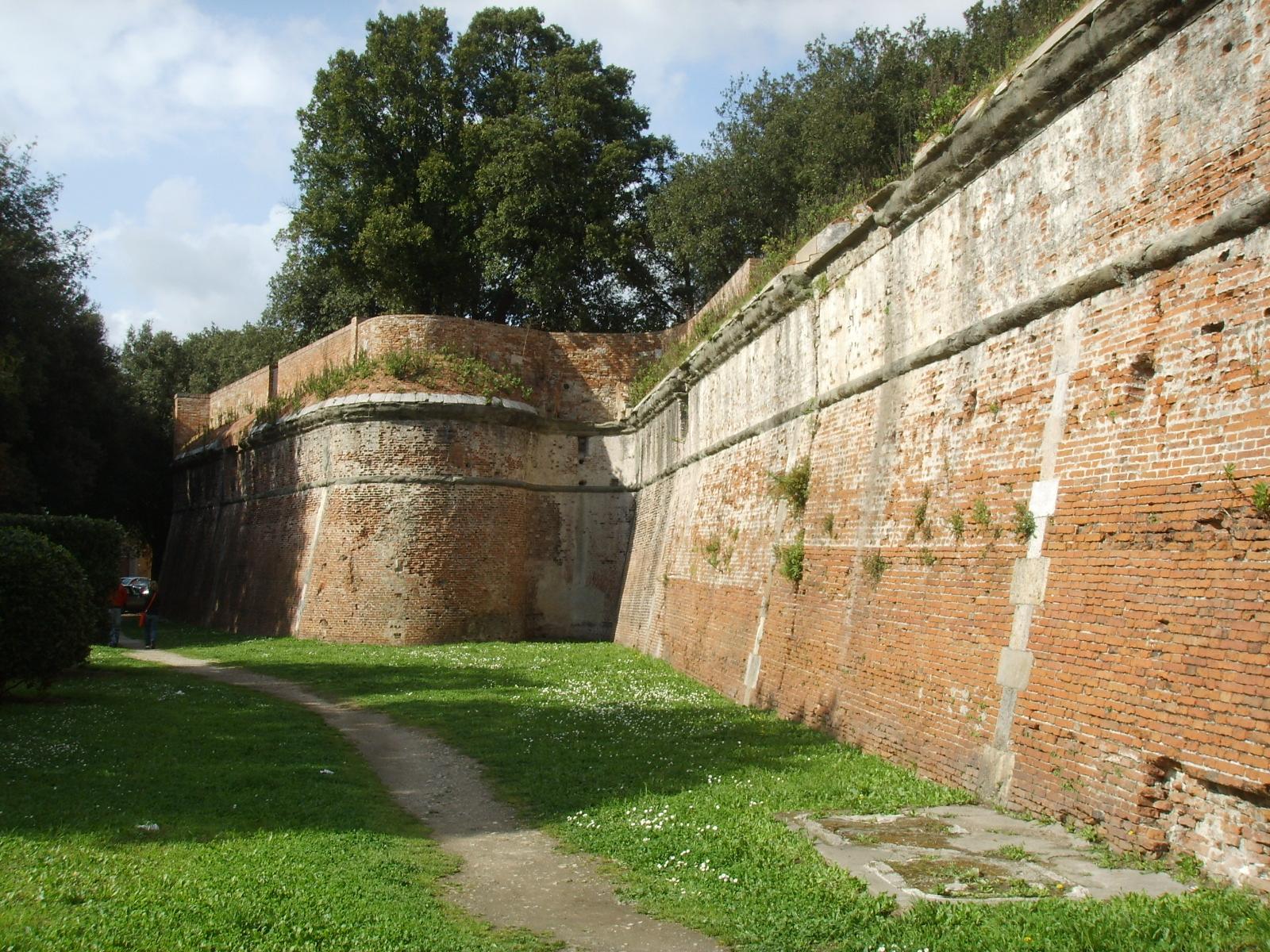 Description giardino di scotto bastione (cittadella nuova)