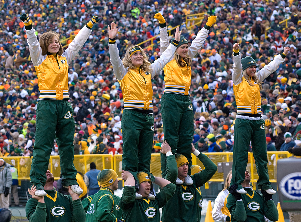 green bay packers cheerleaders pictures collections