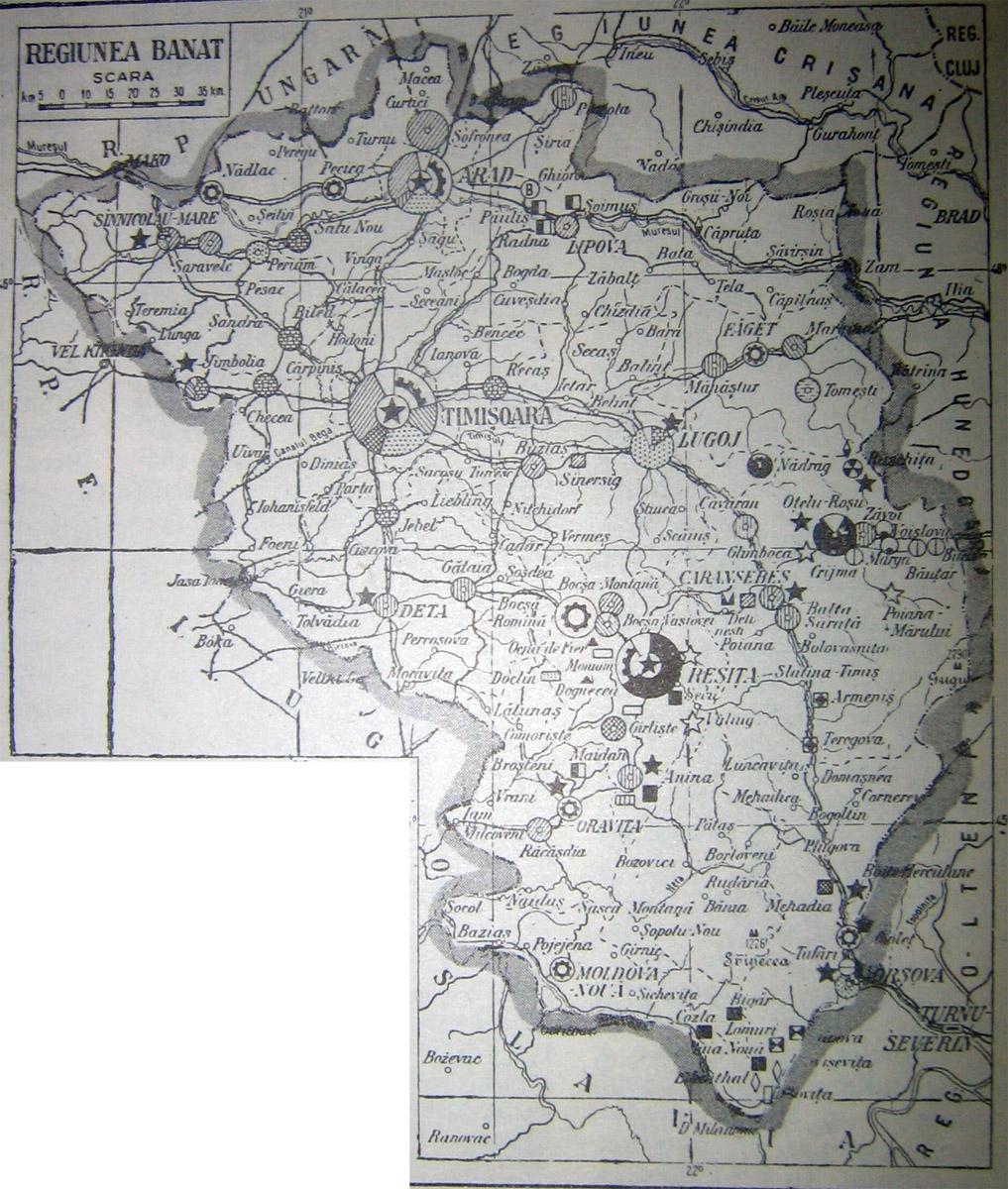 File Harta Regiunea Banat Jpg Wikimedia Commons