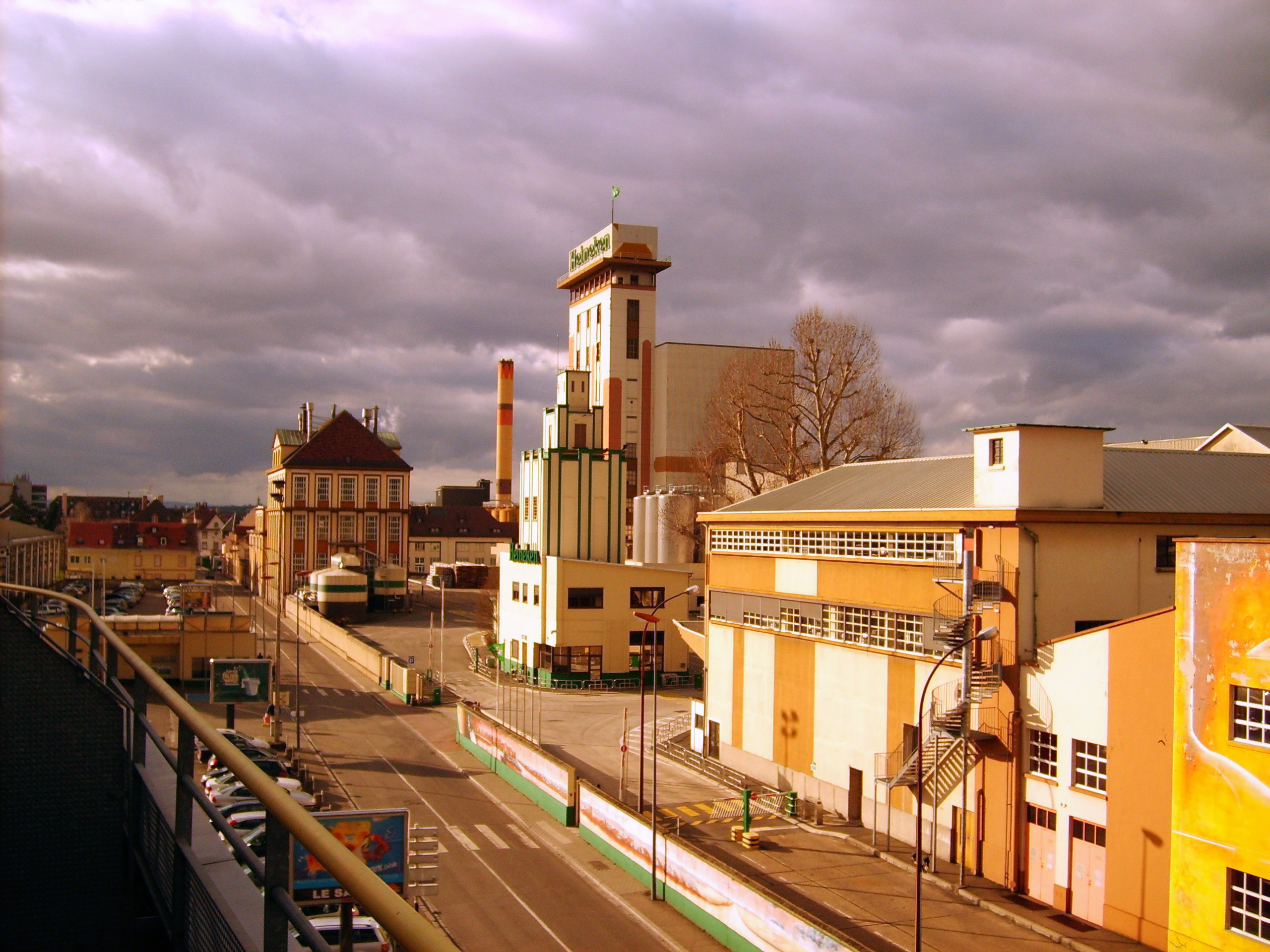 heineken brewery: