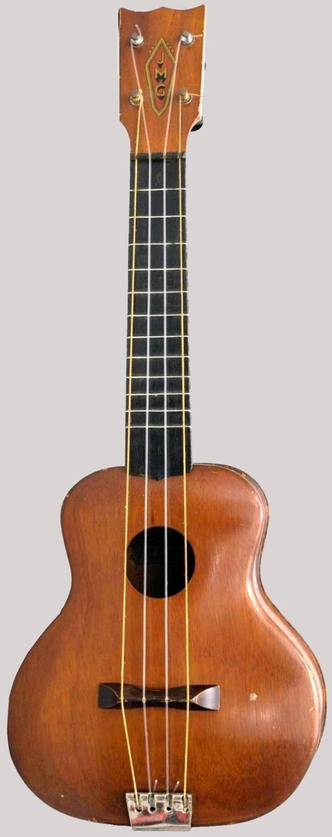 JMG Jack Maskell Guitars Soprano at Lardy's Ukulele Database