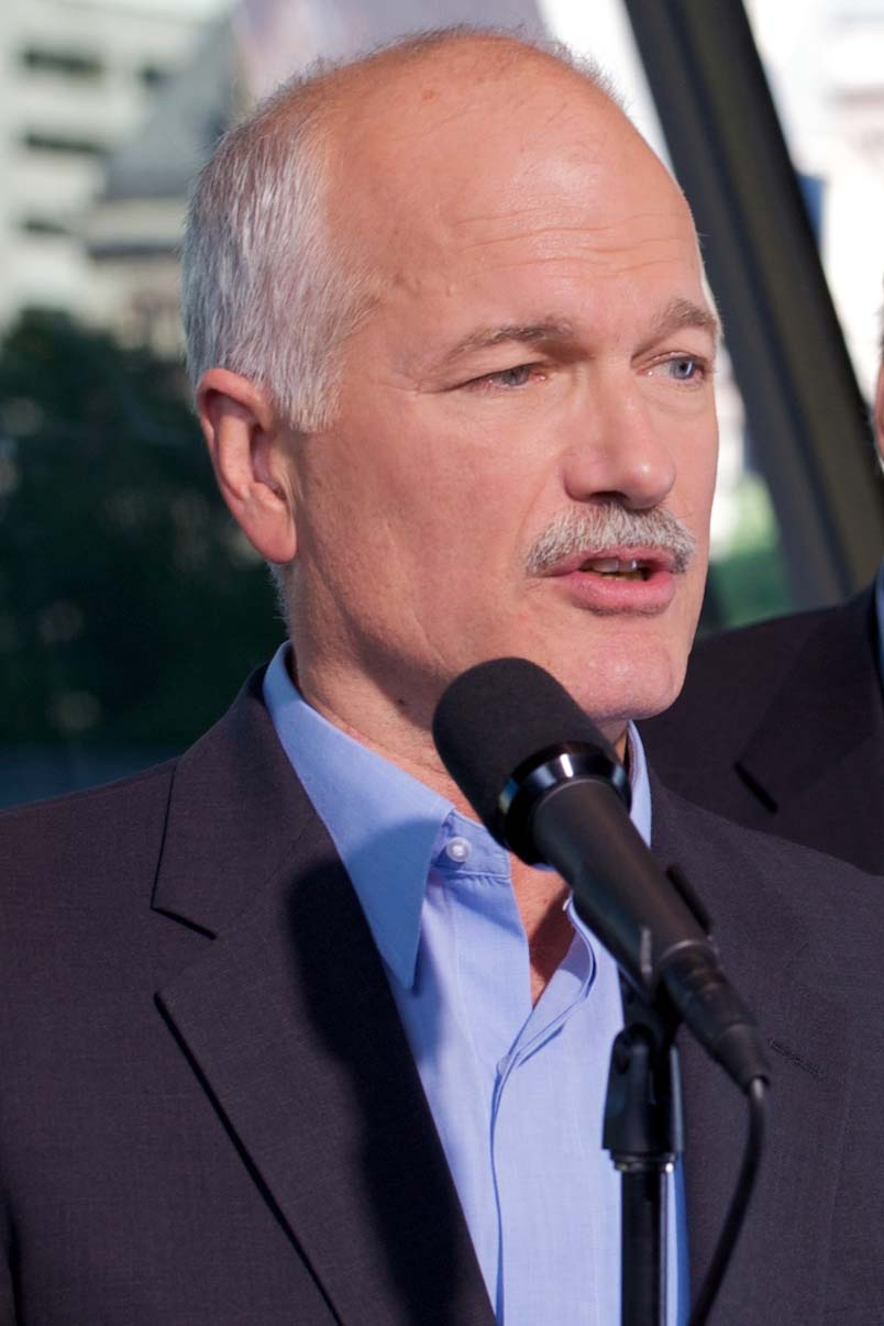 Layton during the 2008 election campaign Jack Layton 2.jpg