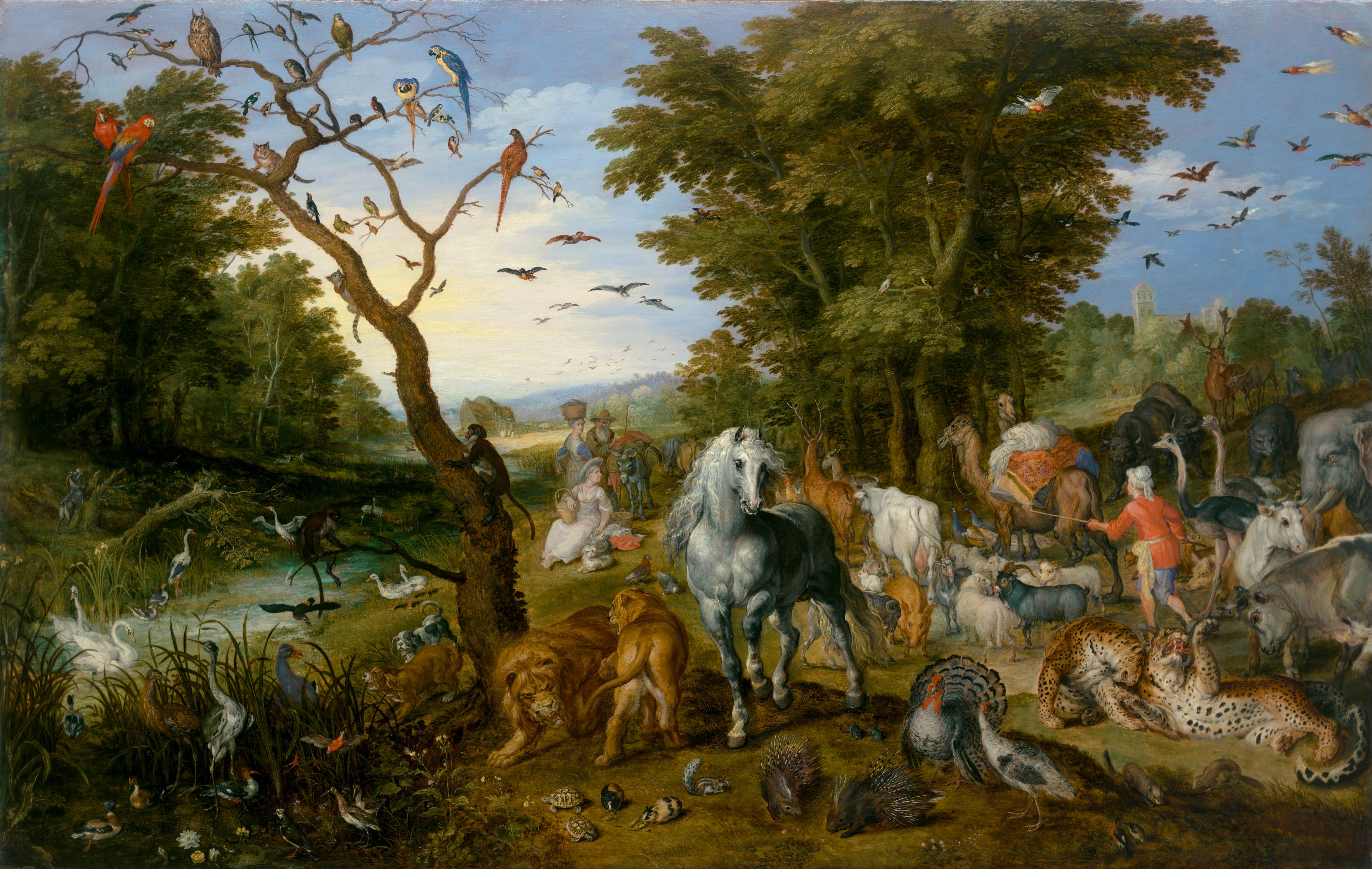file jan brueghel the elder the entry of the animals into noah s