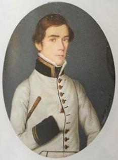 Miniatura de Francisco Cabrera, hecha en la década de 1810.  Imagen tomada de Wikimedia Commons.