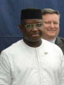 Julius Maada Bio White House delegation 2018 (cropped).jpg