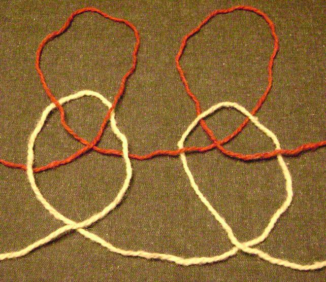 Loose End Stitches Knitting : Plaited stitch (knitting) - Wikipedia