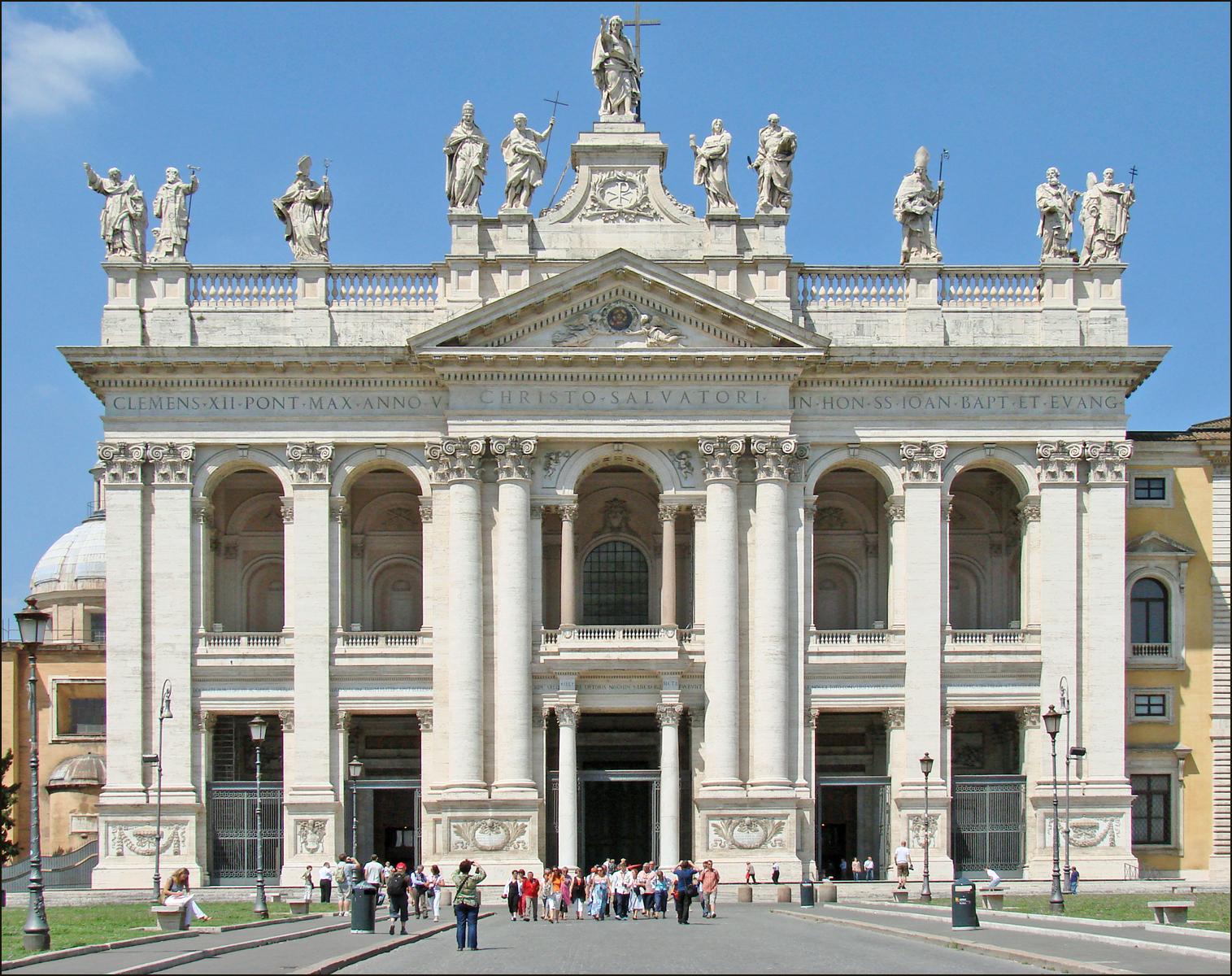 Rome Chrétienne et ses monuments - EUGENE DE LA GOURNERIE - 1867 La_basilique_Saint-Jean-de-Latran_%28Rome%29_%285990055352%29