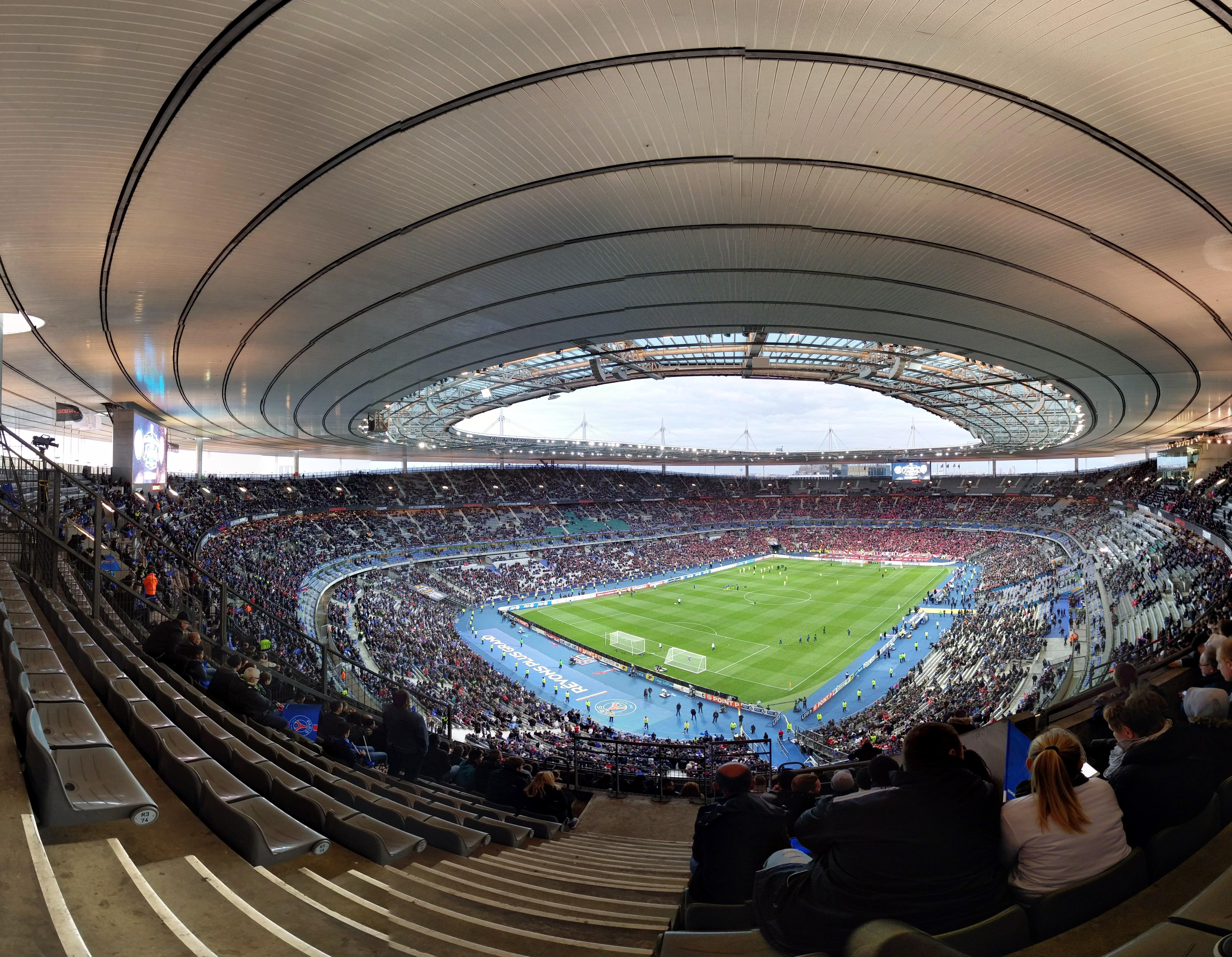 File le stade de france lors de la finale de la coupe de - Places finale coupe de france ...