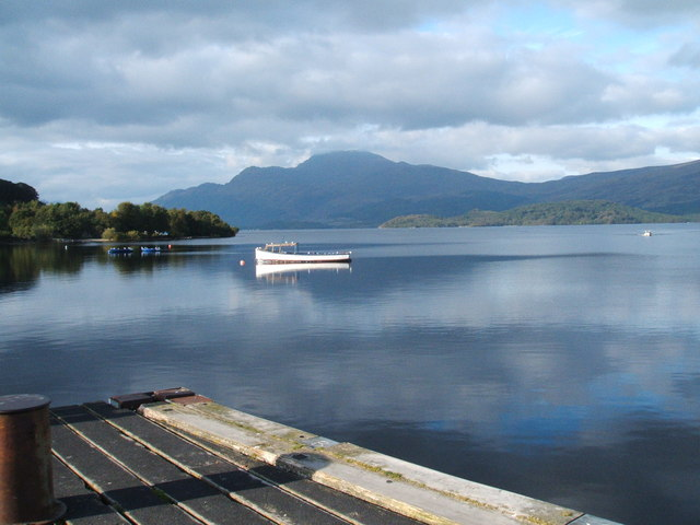 File:Loch Lomond from the pier at Luss - geograph.org.uk - 1519886.jpg