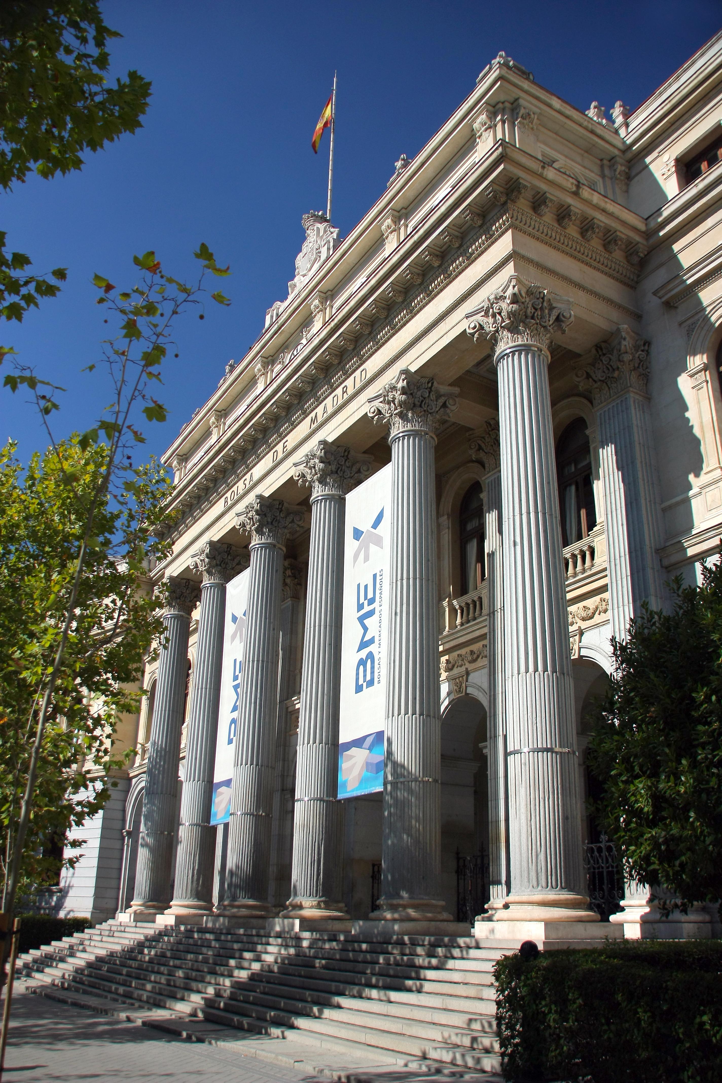 Depiction of Bolsa de Madrid