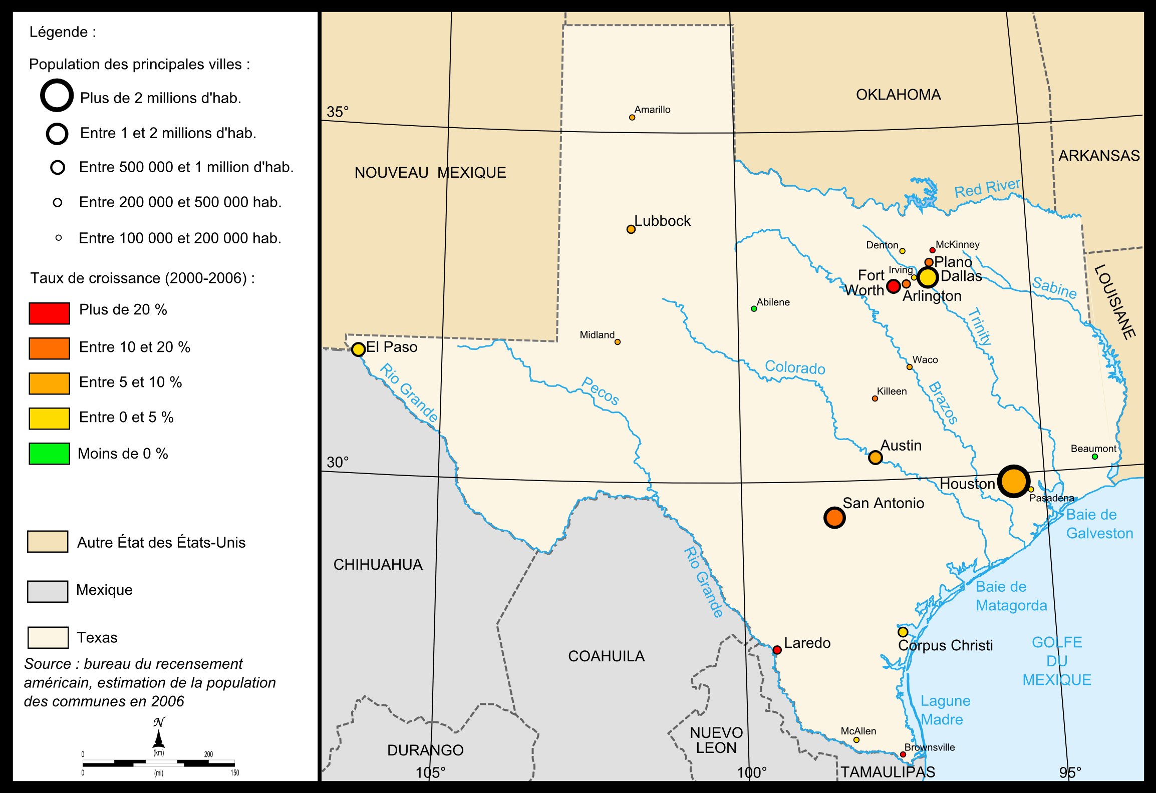 FileMap Of Texas Citiespng Wikimedia Commons - Map of texas cities and rivers