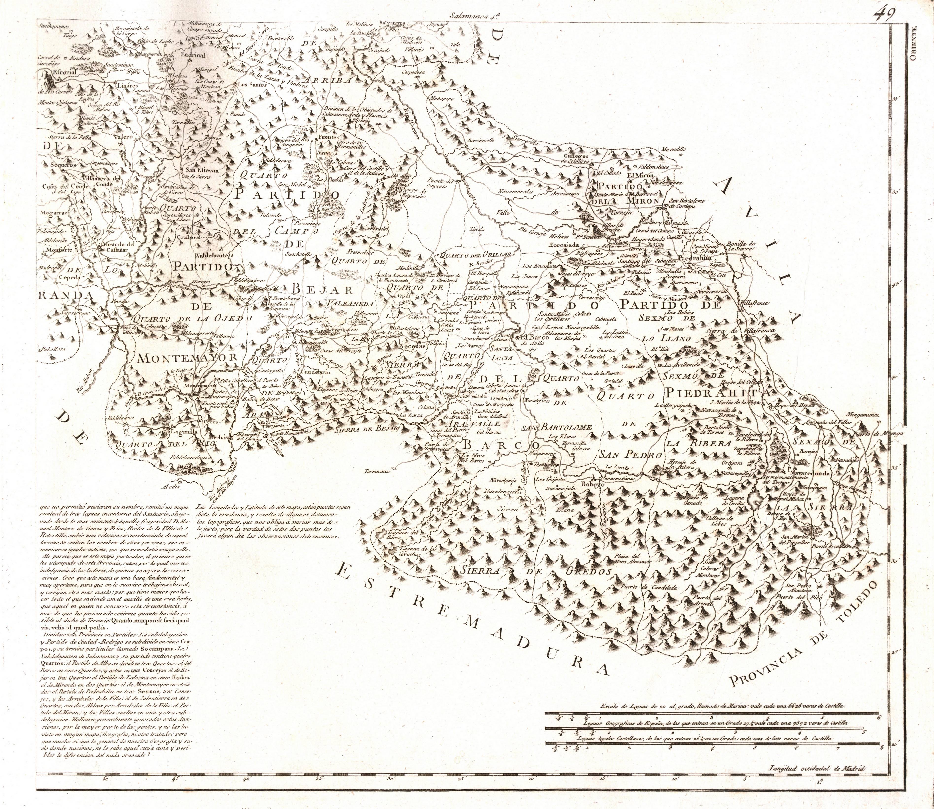 File Mapa Provincia Salamanca Sureste Siglo Xviii Jpg Wikimedia