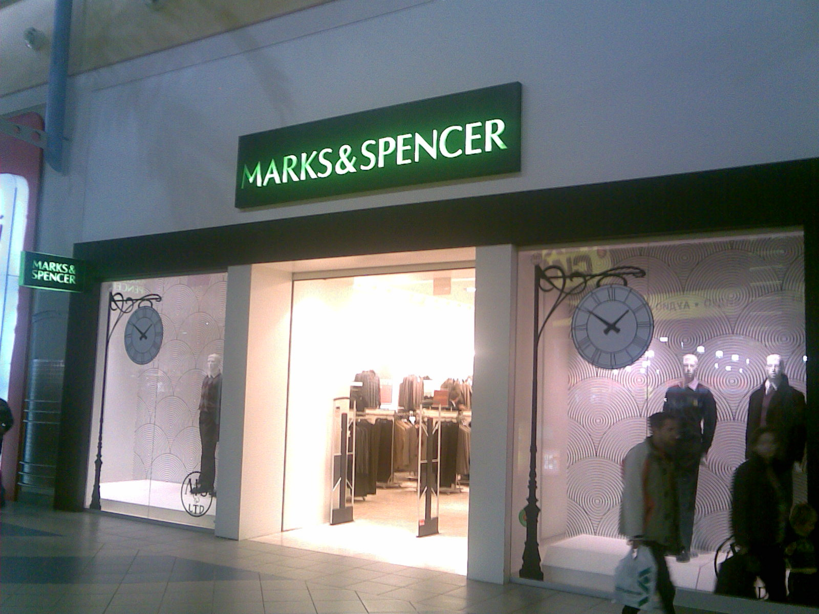 marks and spencer s accounting choices To my mam and my gran, the food hall of our local marks and spencer was a place of worship neither of them were churchgoers, but they believed fervently in the cult of m&s brand st michael.
