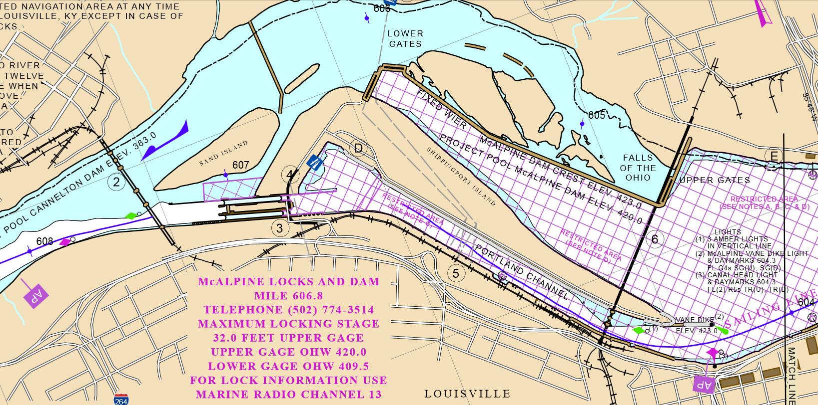 Ohio River Navigation Charts Heartpulsar