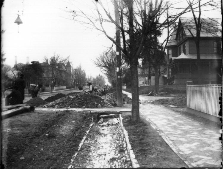 File:Men laying sewer or water lines in street near Oxford College n.d. (3191811299).jpg