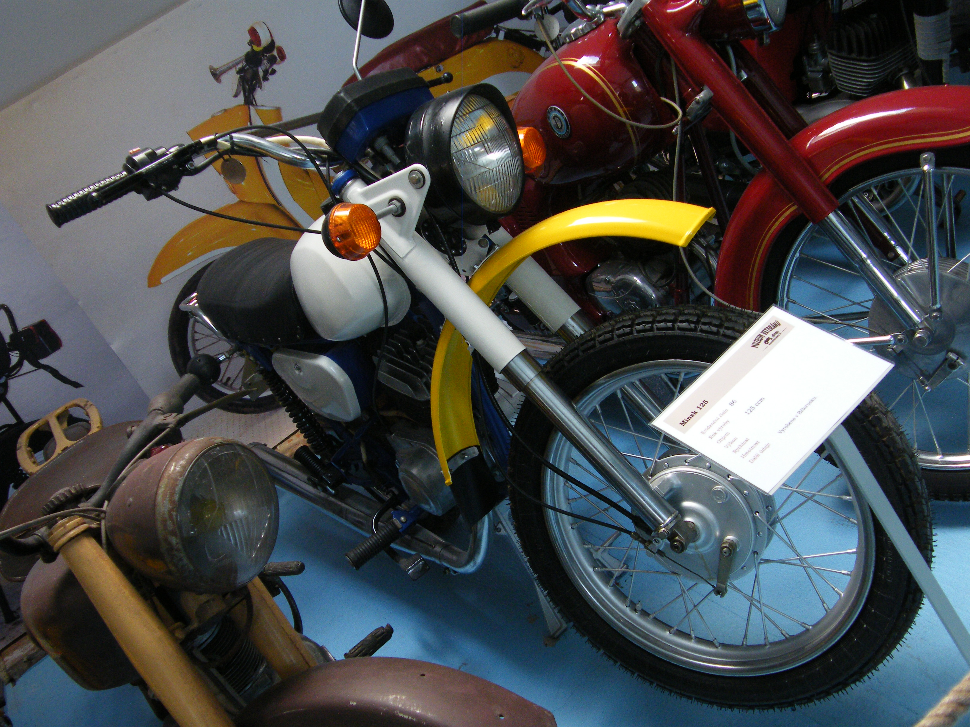 Motorcycle Minsk: technical characteristics and success in the international market 73