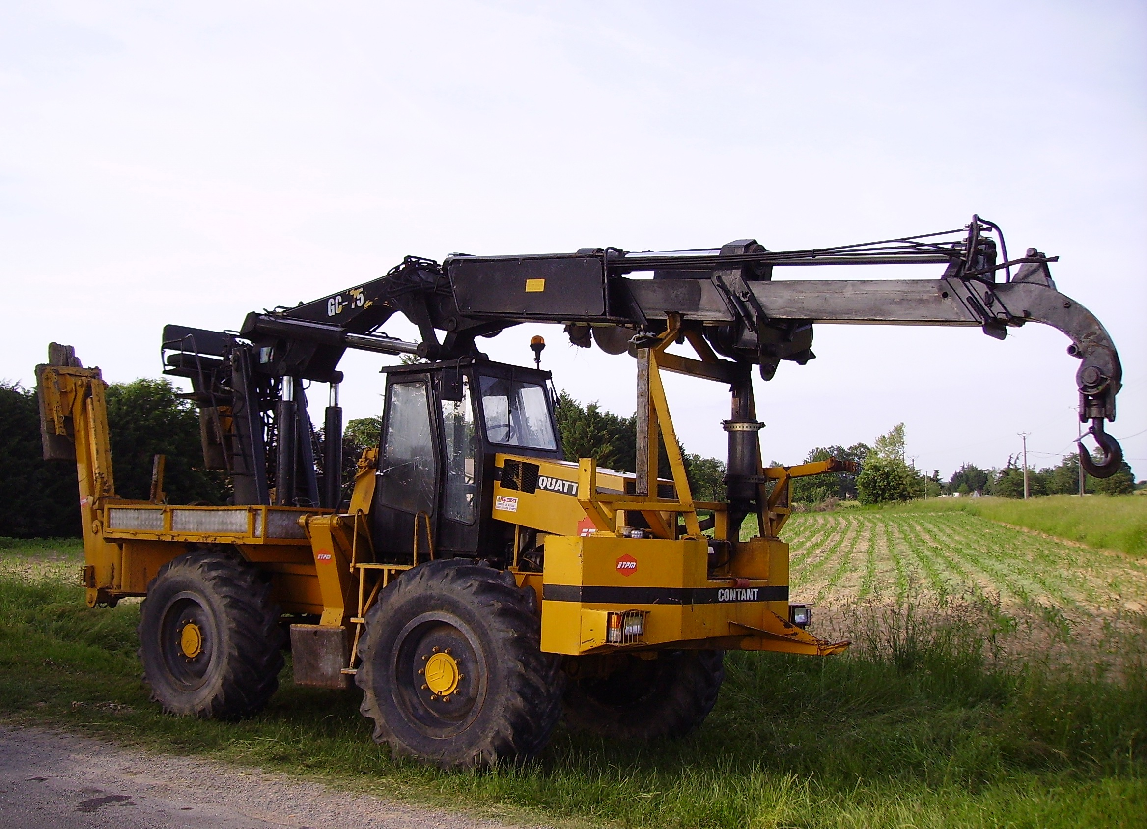 Mobile Crane Machine : Images about ref machines mechanical on